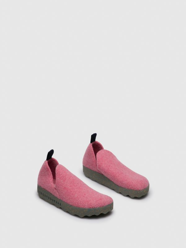 FELT Boots with Velcro Lilac