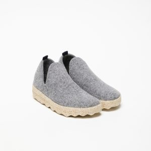 FELT Boots with Velcro Grey