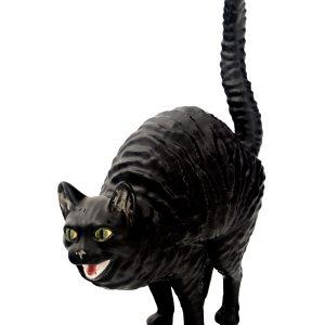 Gato em artesanato assanhado